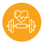 healhty icon or